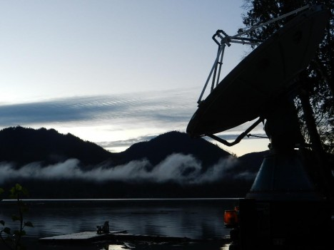 Kelvin-Helmholtz wave clouds as viewed from the DOW site (Photo credit: Hannah Barnes)