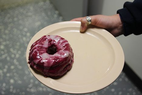 Creature comforts abound - Saturday is homemade donut day!