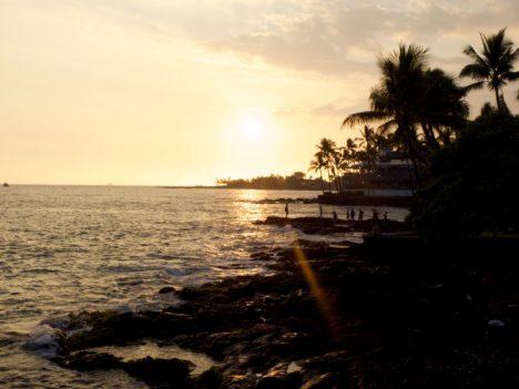 Sunset on Kona, Hawaii (credit: Christina Williamson) Sunset on Kona, Hawaii (credit: Christina Williamson)