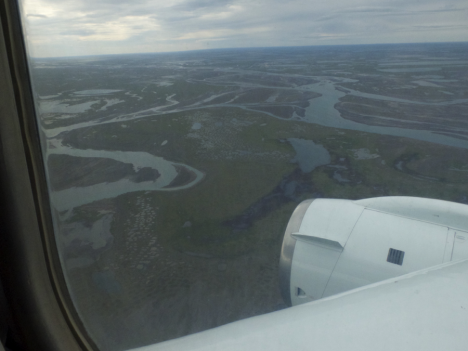 Views over Dead Horse, Alaska. (Credit: Christina Williamson)