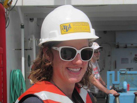 Elizabeth Thompson from the University of Washington's Applied Physics Lab.