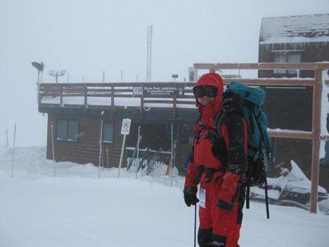 Ed Kim at Storm Peak