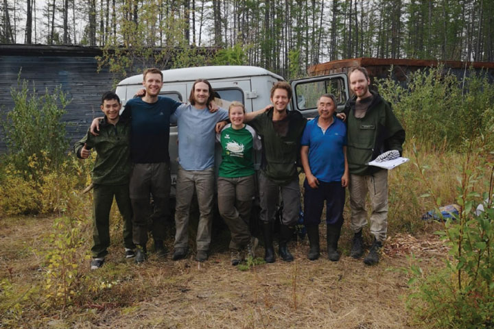 Final Field Days in Batamay, Northeast Siberia