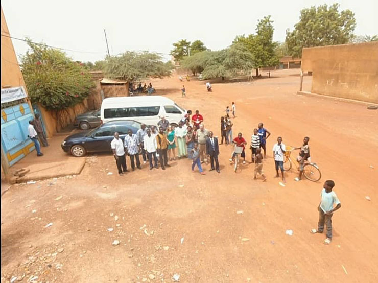Fusing Satellites and sUAVs: On the Ground in Burkina Faso to Address Mapping Challenges