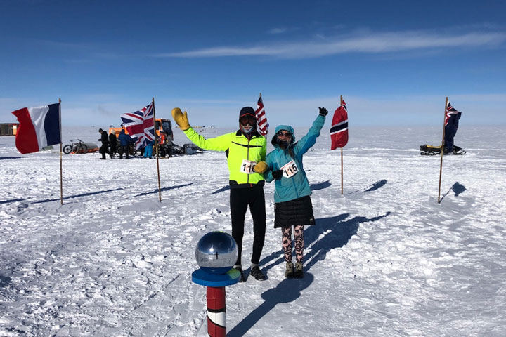 Greetings from Amundsen-Scott South Pole Station