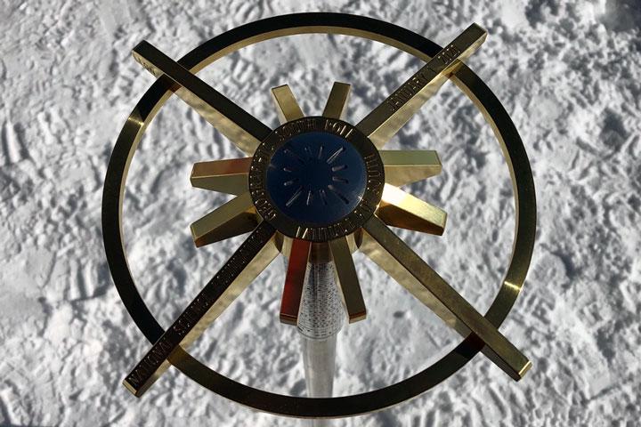 Happy New Year from Amundsen-Scott South Pole Station