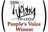 Webby Awards People's Voice Winner (2007)
