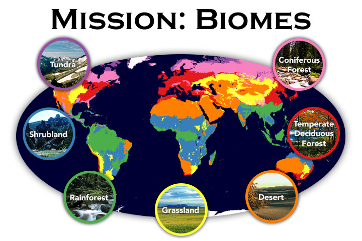 mission biomes
