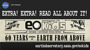 EO Kids: 60 Years of Looking at Earth from Above